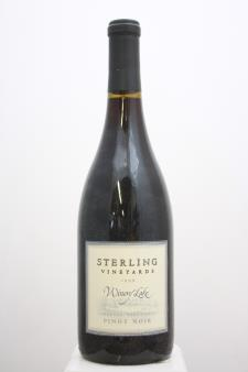 Sterling Vineyards Pinot Noir Winery Lake 1999