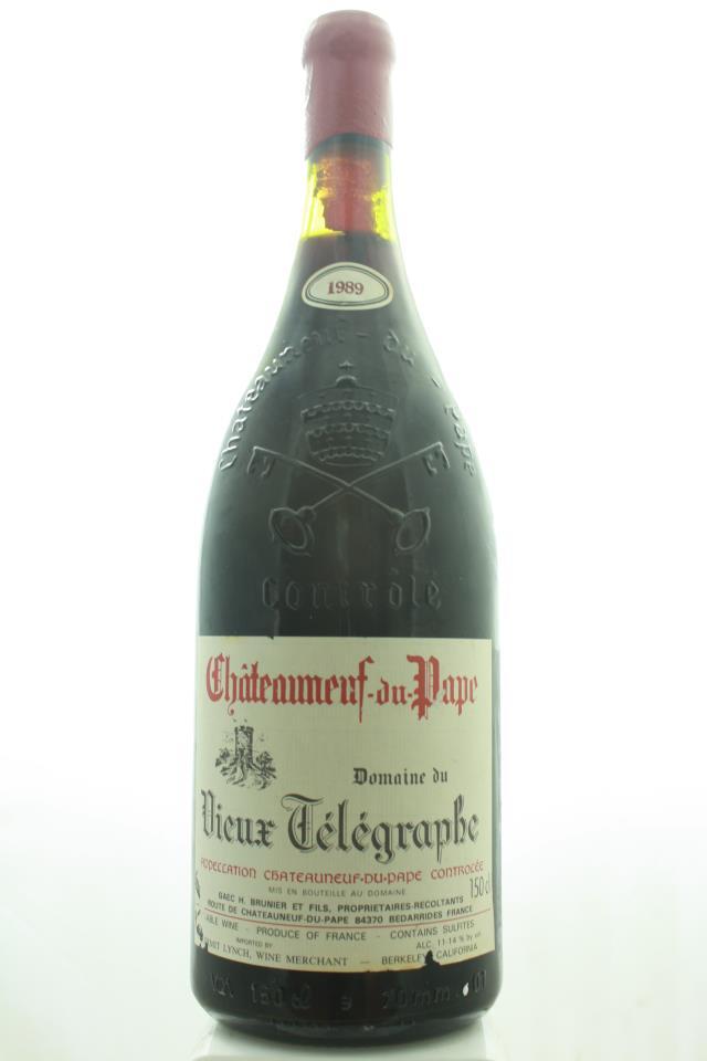 Domaine du Vieux Télégraphe Châteauneuf-du-Pape 1989