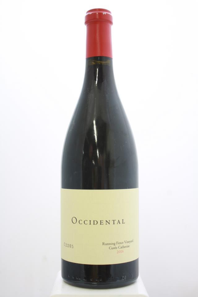 Occidental Pinot Noir Running Fence Vineyard Cuvée Catherine 2016