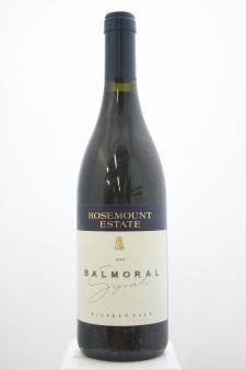 Rosemount Estate Syrah Balmoral 1995