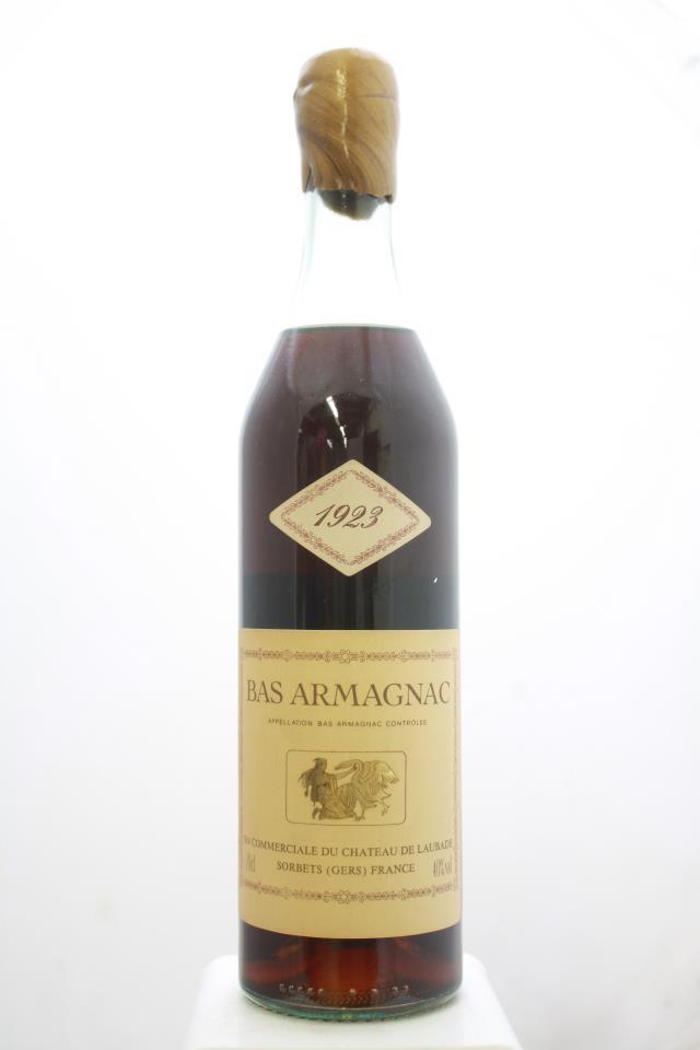 Laubade Bas Armagnac 1923