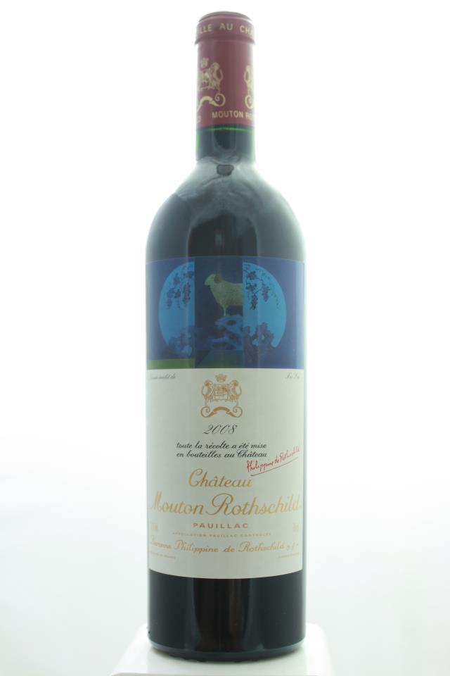Mouton Rothschild 2008