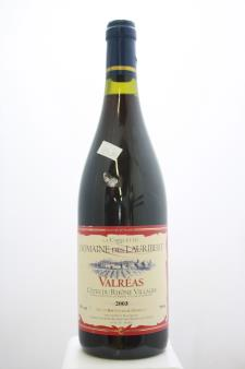 Domaine des Lauribert Valreas La Carelette 2003