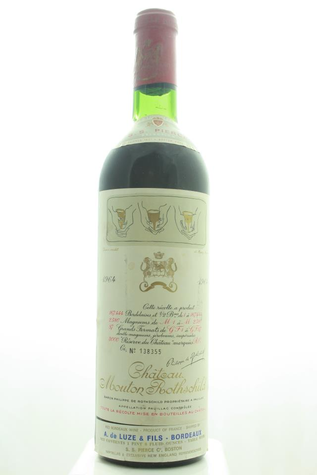 Mouton Rothschild 1964