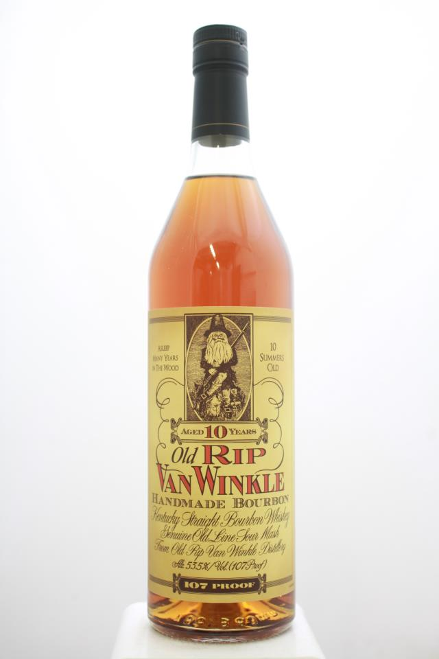Old Rip Van Winkle Kentucky Straight Bourbon Whiskey 10-Years-Old NV