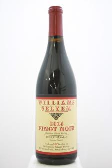 Williams Selyem Pinot Noir Foss Vineyard 2016