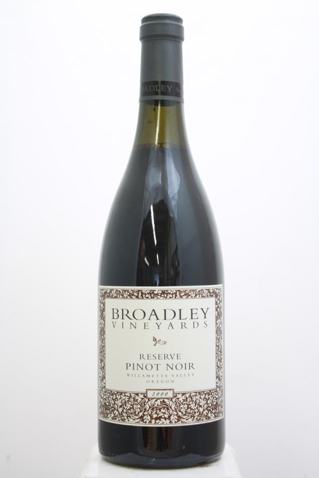 Broadley Pinot Noir Reserve 2000