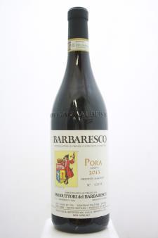 Produttori del Barbaresco Barbaresco Riserva Pora 2015