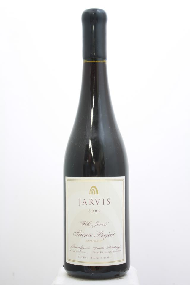Jarvis Cabernet Franc Will Jarvis' Science Project 2009