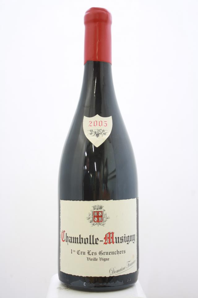 Domaine Fourrier Chambolle-Musigny Les Gruenchers Vieilles Vignes 2005