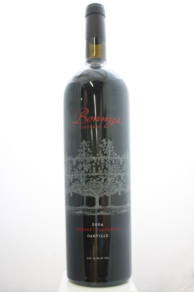 Meyer Family Cellars Cabernet Sauvignon Bonny's Vineyard 2004