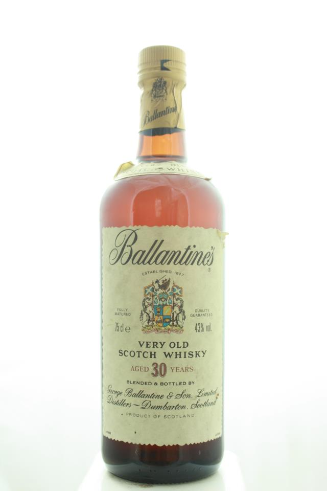 Ballantine's Blended Scotch Whisky Very Old 30-Year-Old NV