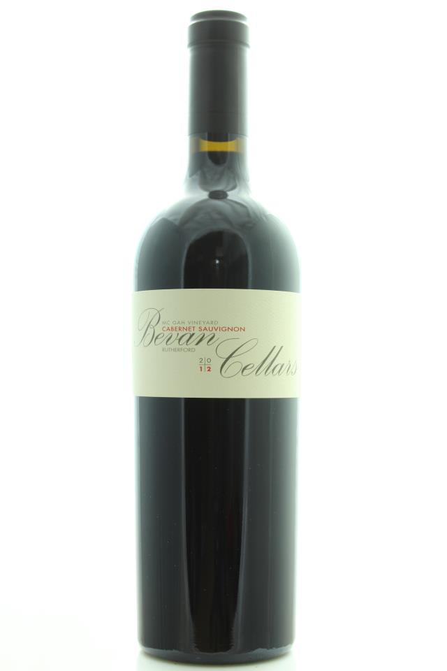 Bevan Cellars Cabernet Sauvignon McGah Vineyard 2012