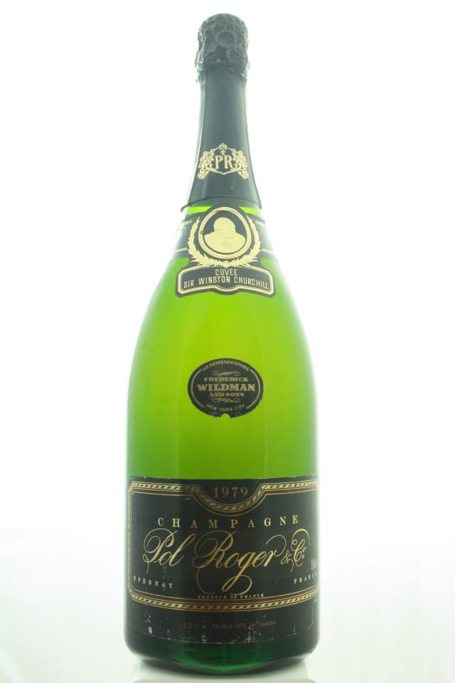 Pol Roger Sir Winston Churchill Cuvée 1979