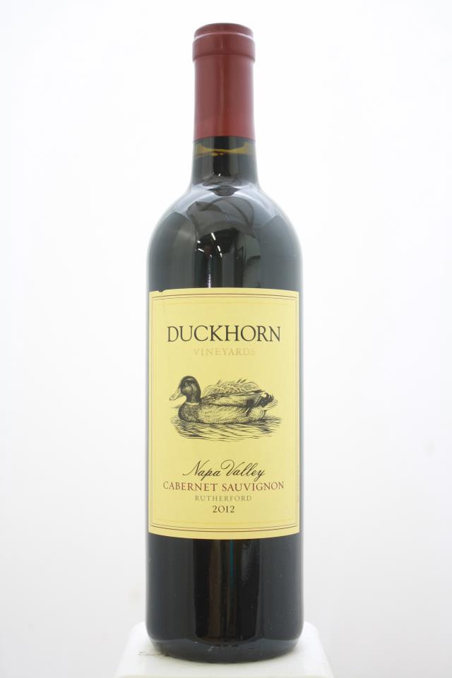 Duckhorn Cabernet Sauvignon Napa Valley 2012