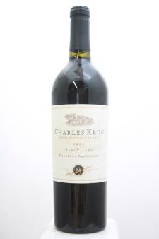 Charles Krug Cabernet Sauvignon Napa Valley 2001