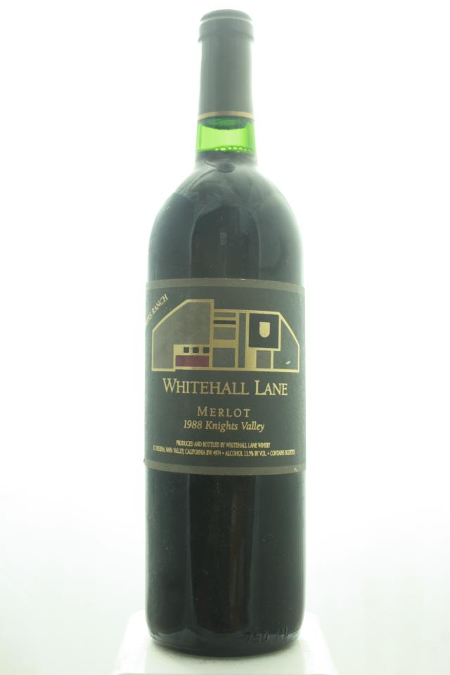 Whitehall Lane Merlot Summers Ranch 1988