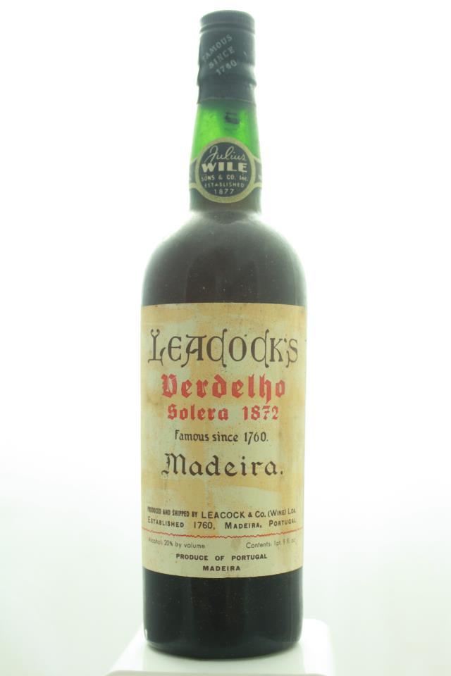 Leacock Verdelho Solera 1872 NV