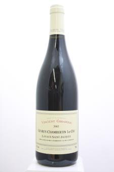 Vincent Girardin Gevrey-Chambertin Lavaux Saint-Jacques 2002