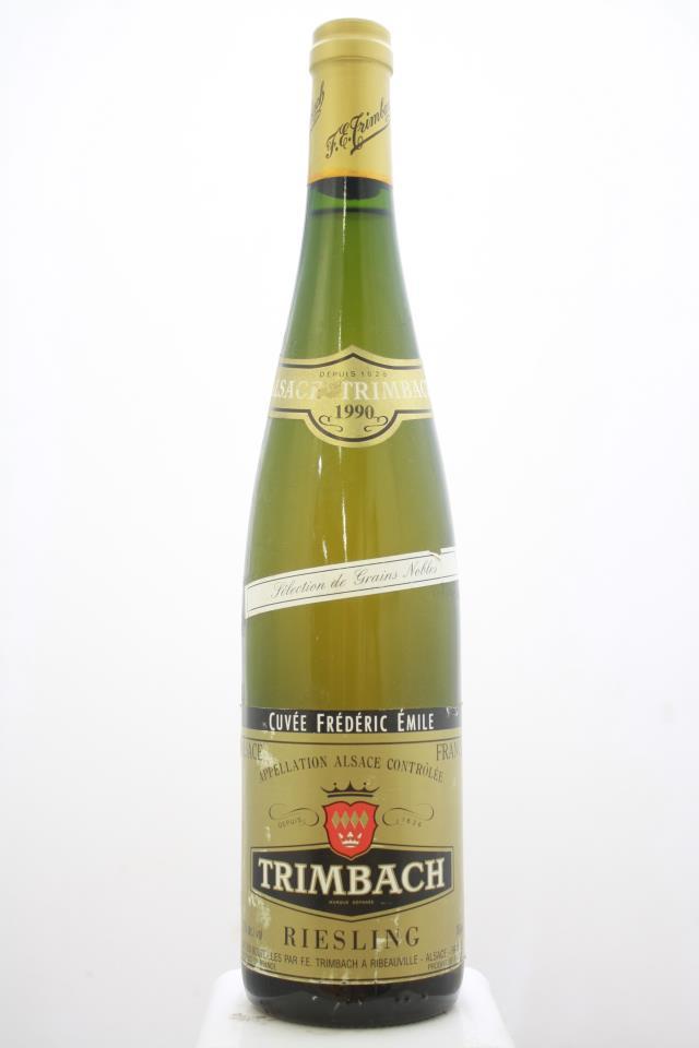 Trimbach Riesling Cuvée Frédéric Emile 1990