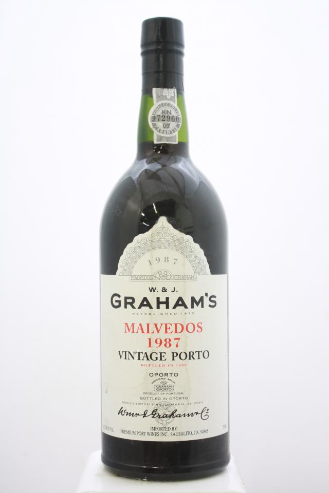 Graham's Malvedos Port 1987