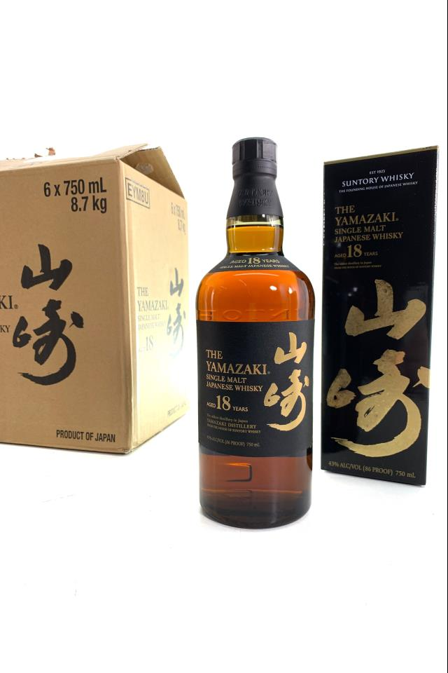 Suntory The Yamazaki Single Malt Japanese Whisky 18-Year-Old NV