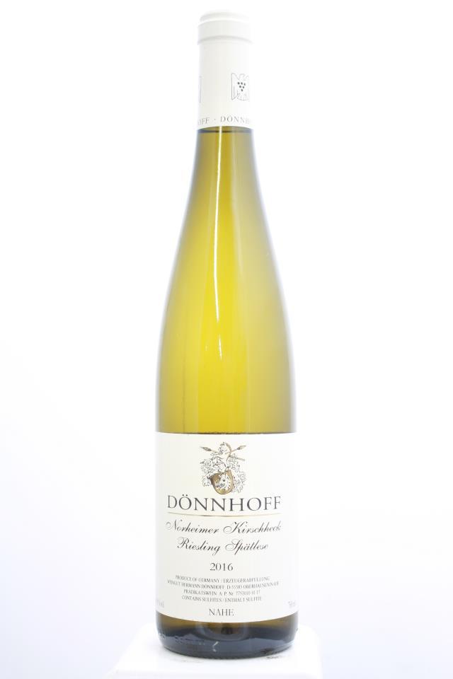 Dönnhoff Norheimer Kirschheck Riesling Spätlese #10 2016