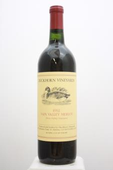 Duckhorn Merlot Three Palms 1992