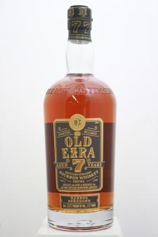 Old Ezra Brooks Kentucky Straight Bourbon Whiskey Barrel Strength 7-Years-Old NV