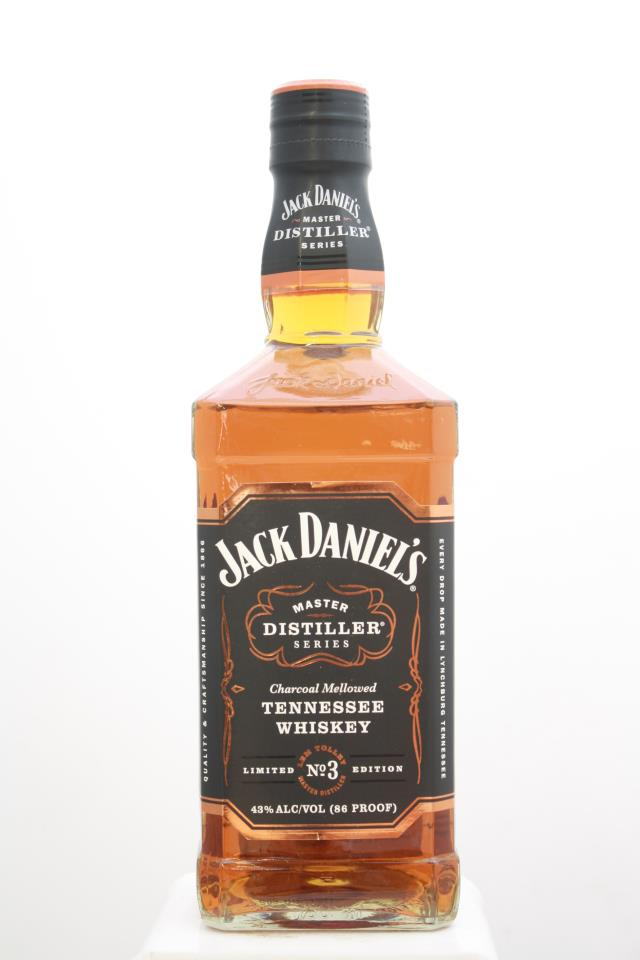 Jack Daniel's Charcoal Mellowed Tennessee Whiskey Limited Edition No.3 NV
