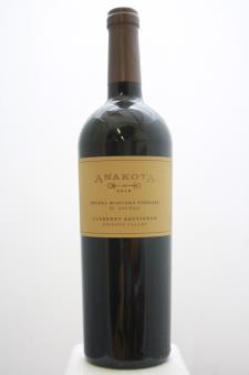 Anakota Cabernet Sauvignon Helena Montana Vineyard 2016
