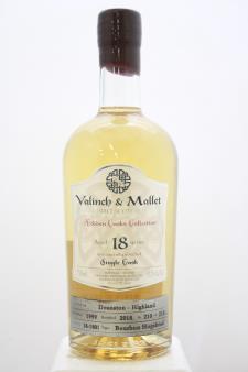 Valinch & Mallet Single Malt Scotch Whisky Hidden Casks Collection 18-Years-Old 1999