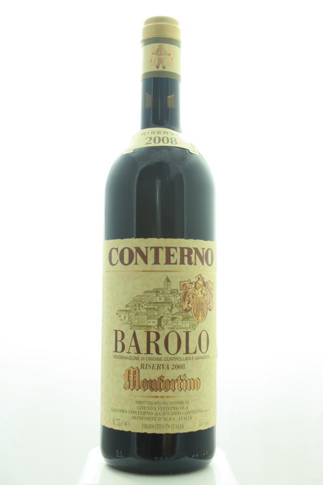 Giacomo Conterno Barolo Riserva Monfortino 2008
