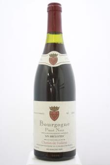 Charles de Valliere Pinot Noir Bourgogne Les Brulottes 1996