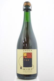 Under The Wire Sparkling Pinot Noir Alder Springs Vineyard 2013