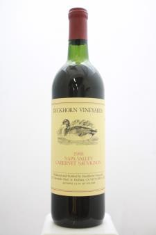Duckhorn Cabernet Sauvignon Napa Valley 1988