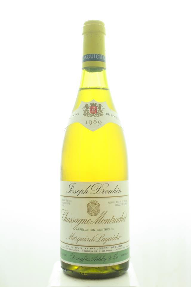Joseph Drouhin (Maison) Chassagne-Montrachet Marquis de Laguiche 1989