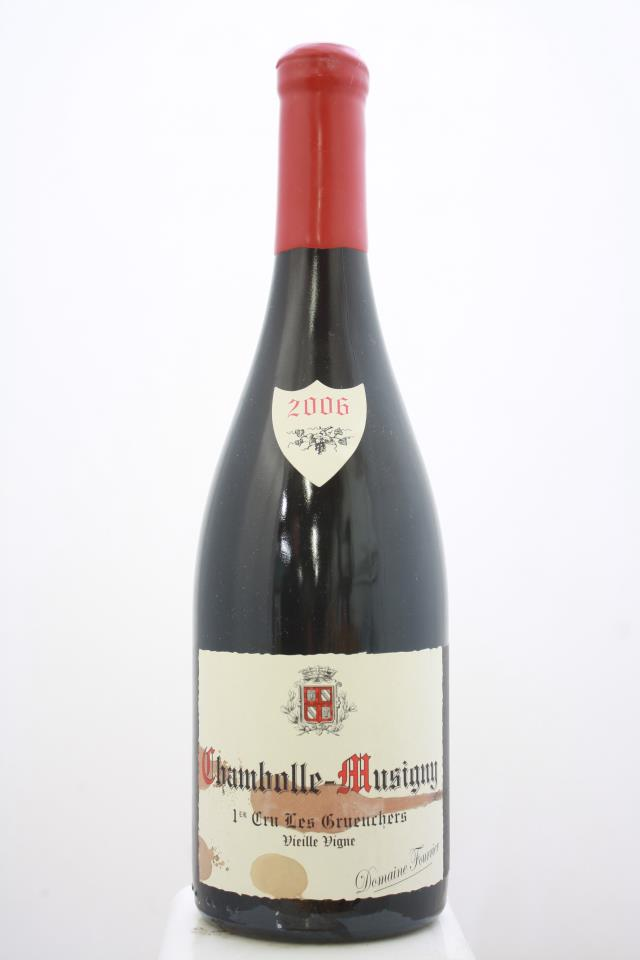 Domaine Fourrier Chambolle-Musigny Les Gruenchers Vieilles Vignes 2006