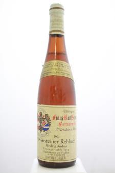 Franz Karl Schmitt Niersteiner Rehbach Riesling Auslese #03 1971