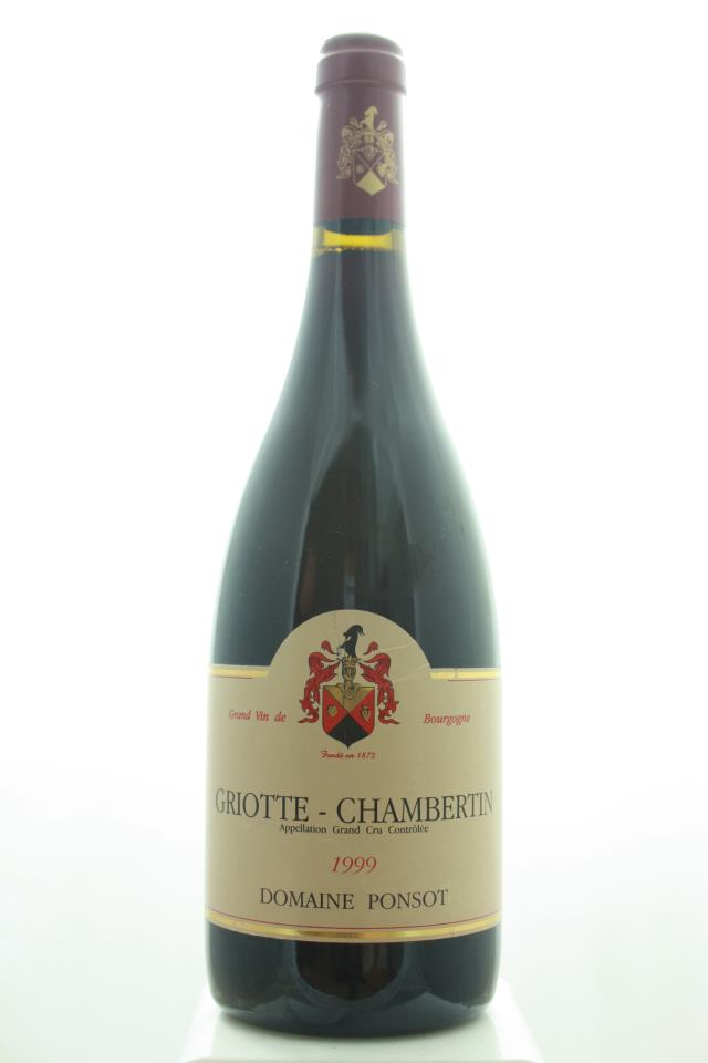 Domaine Ponsot Griotte-Chambertin 1999