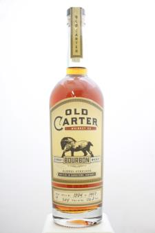 Old Carter Straight Bourbon Whiskey Barrel Strength Batch #4 NV