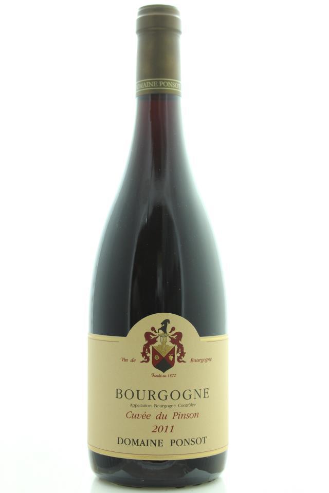 Domaine Ponsot Bourgogne Cuvée du Pinson 2011