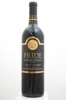 Pride Mountain Vineyards Cabernet Sauvignon Napa Valley 1997