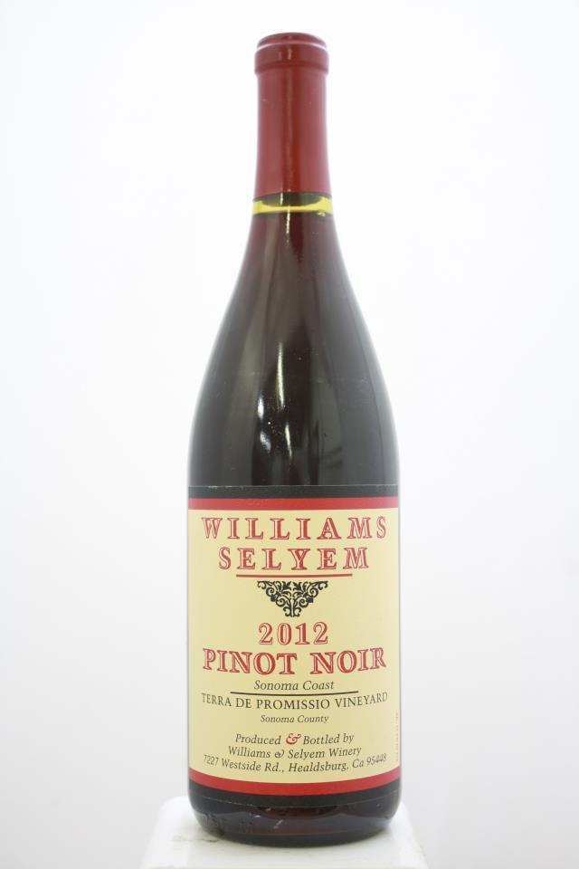 Williams Selyem Pinot Noir Terra de Promissio Vineyard 2012