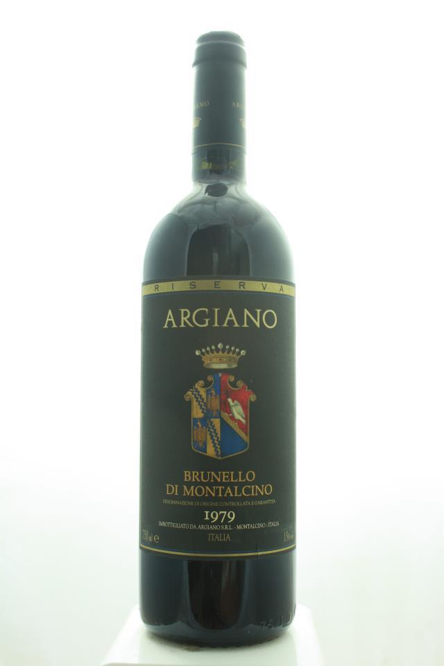 Argiano Brunello di Montalcino Riserva 1979