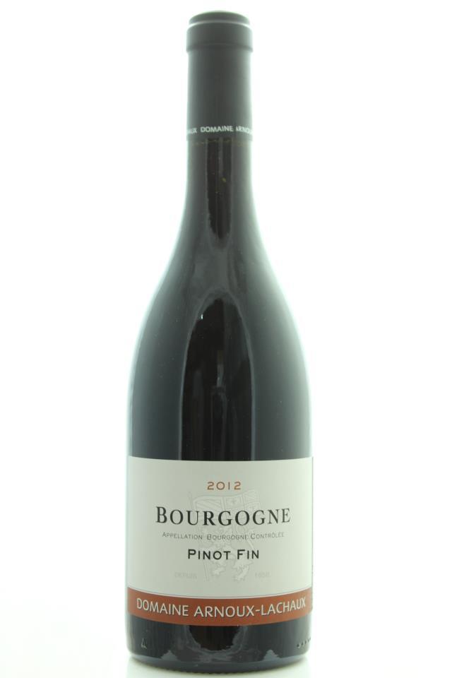 Arnoux-Lachaux Bourgogne Pinot Fin 2012