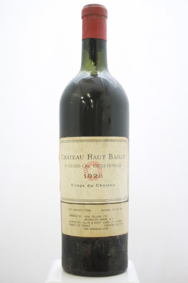 Haut Bailly 1928