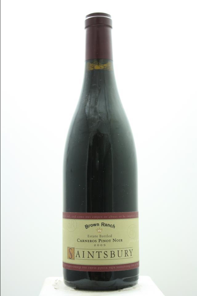 Saintsbury Pinot Noir Estate Brown Ranch 2005