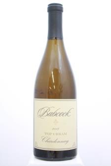 Babcock Chardonnay Top Cream 2013