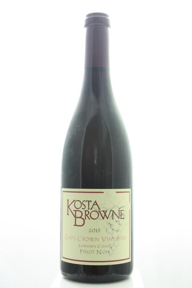 Kosta Browne Pinot Noir Gap's Crown Vineyard 2015